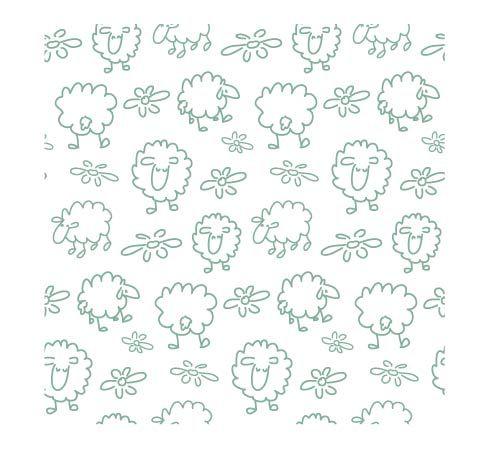 potištěné sklo DesignGlas - dětský motiv ovečky