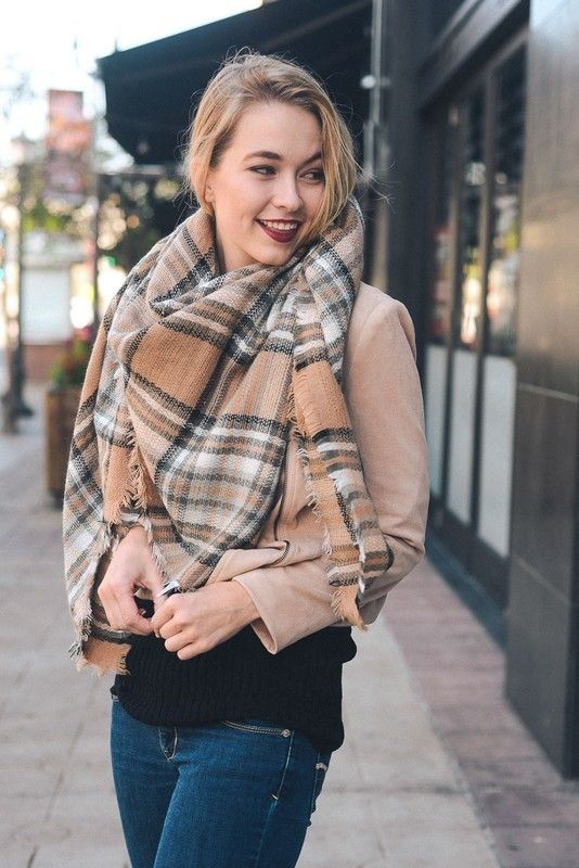 Kelly Brett Boutique - Classic Blanket Scarf Beige, $24.00 (https://www.kellybrettboutique.com/classic-blanket-scarf-beige/)