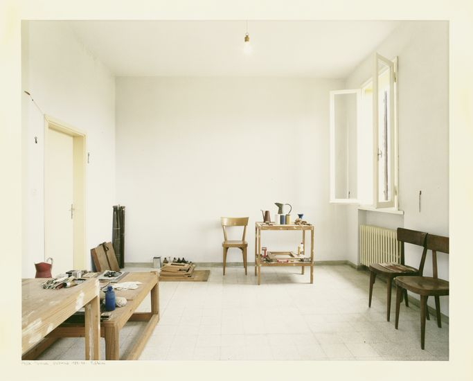 Atelier Morandi, Grizzana, Luigi Ghirri, 1989-1990