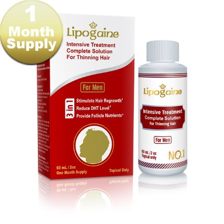 Lipogaine 1 Month supply from Minoxidil2U.  Liverpool- based hair loss specialists, always working with different companies to get a large variety to our customers!