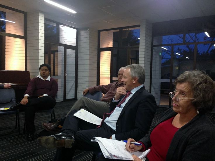 Labour Youth MP's with Labour MP at Auckland