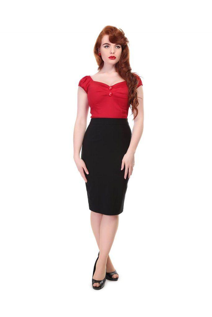 Polly Plain Bengaline Skirt