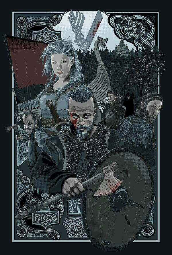 Vikings on the History Chanel