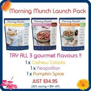 Leisa from @embracinghealth has uploaded a fantastic blog this week on why our new Morning Munch is a nutritionally fabulous new breakfast option suitable for everyone!   Click the link to read this great blog from a Leisa, a qualified naturopath and raw food coach.