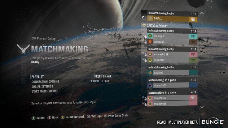 Como jugar matchmaking en halo reach