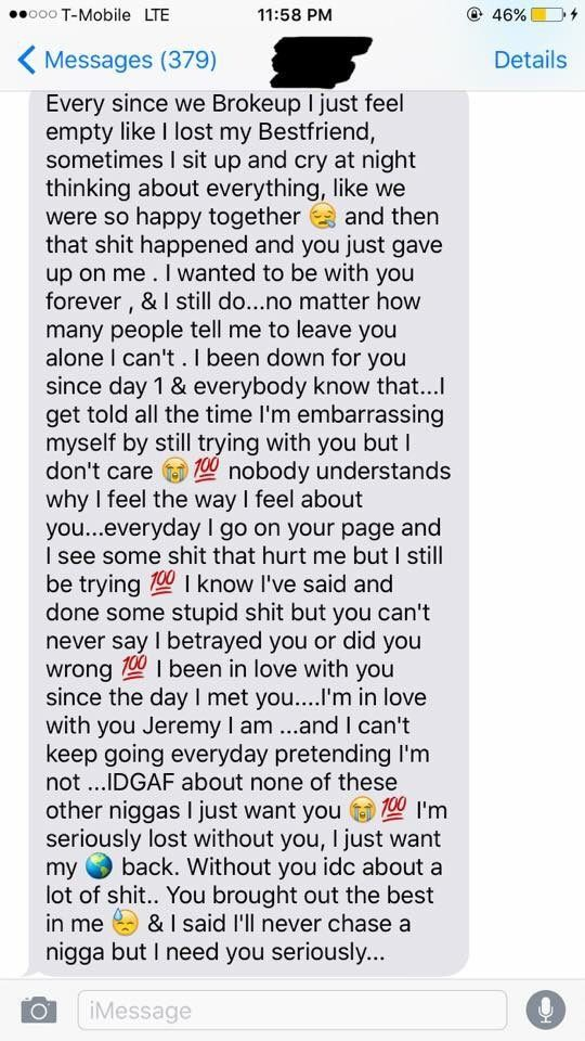 a paragraph to text your girlfriend