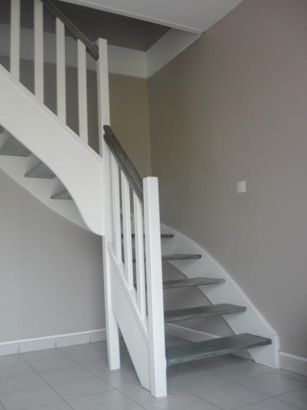 Escalier de meunier d co pinterest escalier de - Peinture escalier castorama ...