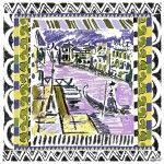 Prada scarf Venice