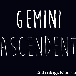 Gemini Ascendent / Rising Sign in Astrology http://www.astrologymarina.com/2014/02/gemini-ascendent.html