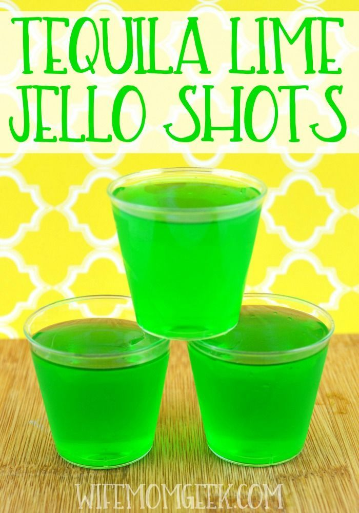 25 best ideas about jello shots on pinterest vodka for Best tequila shot recipes