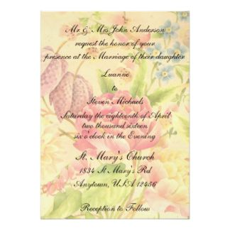 peony floral print card 195 made by zazzle invitations our beautiful peony floral print invitations - Zazzle Wedding Invitations