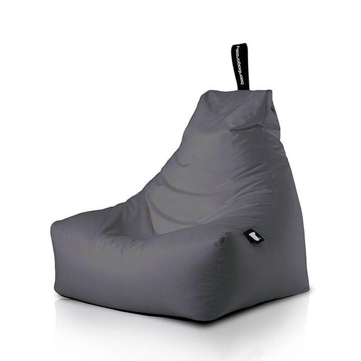 Extreme Lounging B-Bag Mighty-B Basic Zitzak - Grijs