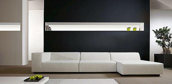 contemporary corner sofa bed STUDIO by  Sur & Plus