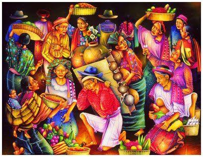 Resultado de imagen para pintor guatemalteco