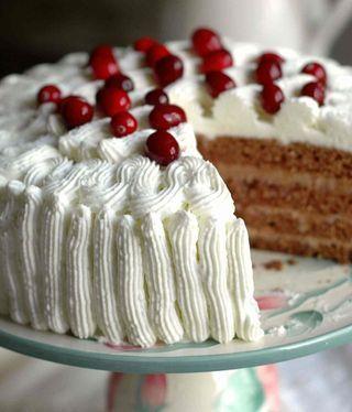 Торт Яблочно-Карамельный.