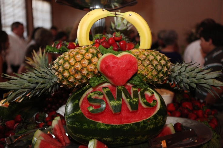 Wedding Food Ideas Get Creative I Do Knot: Our Cute Fruit Display At Our Wedding!