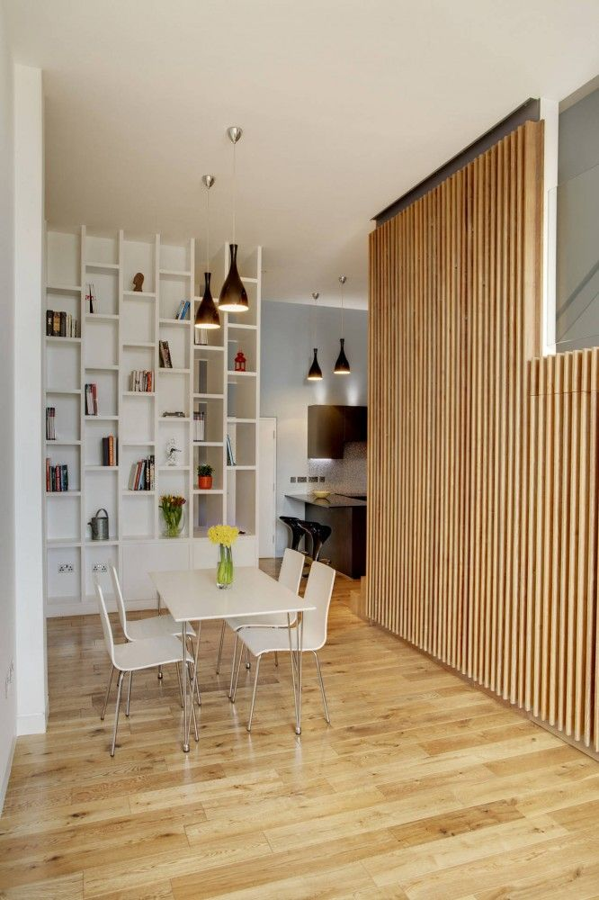 apartment-at-bow-quarter-studio  verve-architects   view of living room