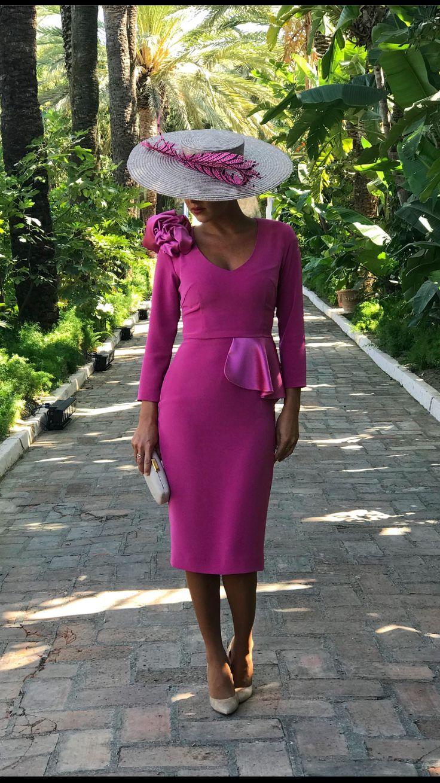 Vestido Elvira nueva colección!! #invitadaperfecta#rosa#weding#moda#invotadaboda#chicalouver#vestidocorto#tocado#louvermarbella