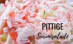 geweldige Pittige Surimisalade (imitatie krab salade)