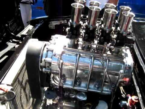 Supercharged 13b Rotary