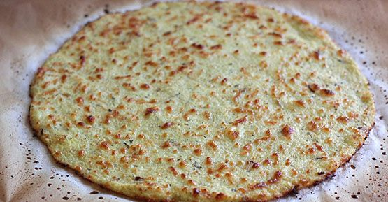 Cauliflower and Chia Seed Crust with Heart, Cancer Prevention and Brain Benefits | Healthy Food House