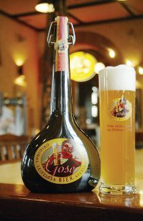 A little salty, a little sour...Ever wonder how to brew a Gose beer?  #beer #homebrewing