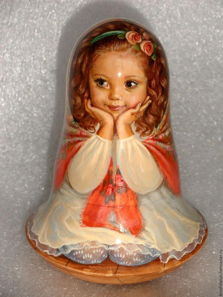 "Russian Collectible Author's Roly Poly, matryoshka/Doll handmade 1 kind ""Masha""!   eBay"