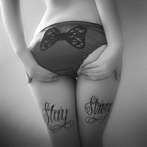 .: Tattoo Ideas, Butt Tattoo, Sexy, Girl, Piercing, Stay Strong Tattoos, Tattoo'S, Staystrong, Ink