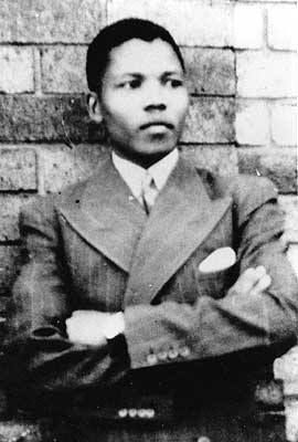 "Nelson Mandela - The man that changed the world grew up in a tiny village and was the 1st member of his family to attend school. His father, who served as a royal counselor to tribal chiefs, died when he was 9. Mandela was adopted by the Thembu regent, Chief Jongintaba Dalindyebo. He was given a Christian name ""Nelson"" by his teacher - the name means ""the son of the champion."""