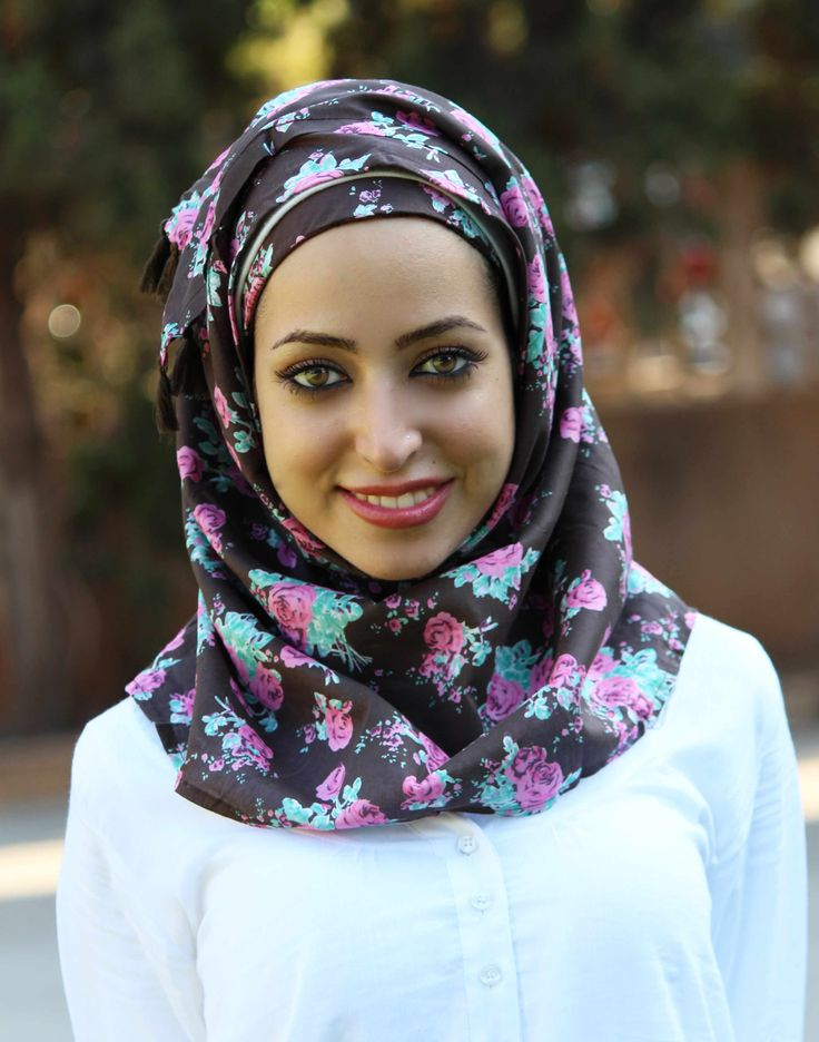 Pinless hijab from Bokitta. It actually has its own patent!