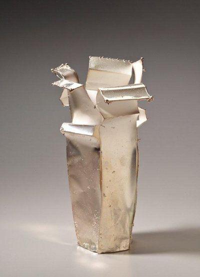 Artist: June Schwarcz, Silver Vessel,
