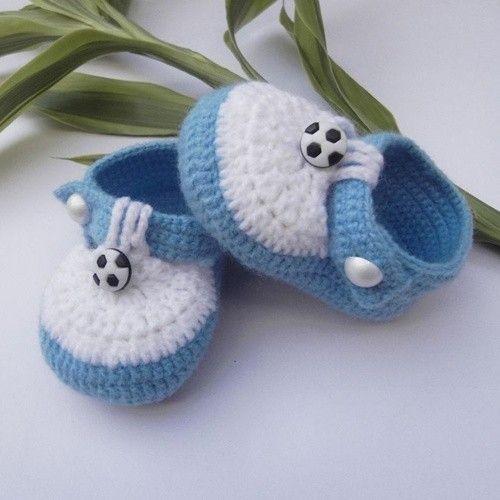 Zapatos de ganchillo: Fotos de zapatos para bebés