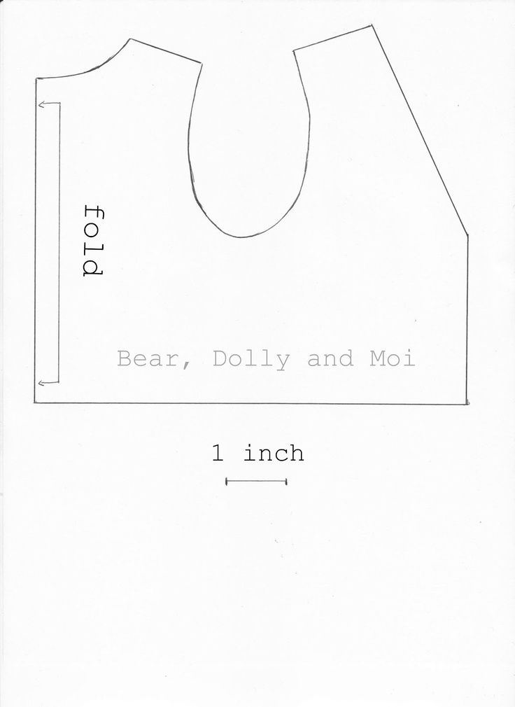 """girl scout vest pattern doll 