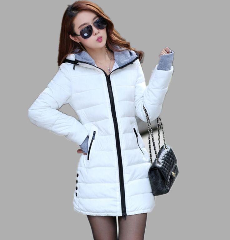 Wadded Clothing Female 2016 New Women's Winter Jacket Down Cotton Jacket Slim…
