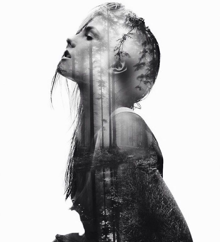 My name is Alexis, I'm 18 years old, I live in Paris and I practice digital double exposure. I love art and I draw for many years, and I've recently started digital work for a better quality of my work.  Usually I spend 3 or 4 hours making one double exposure creation.