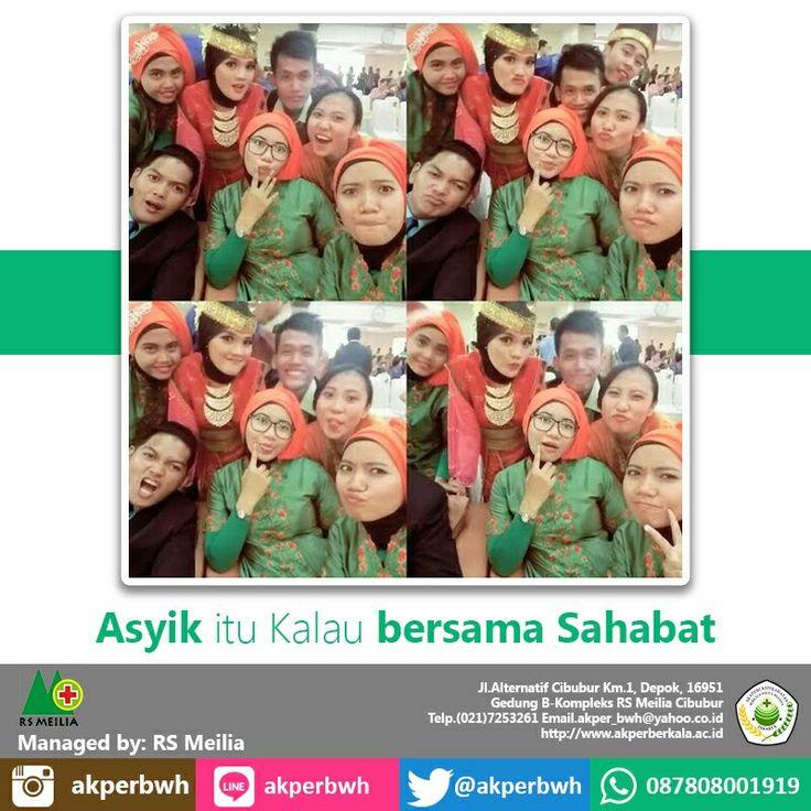 Selalu ada kebersamaan di AKPER BERKALA • • #akper #akademi #keperawatan #akperberkala #cibubur #depok #cileungsi #bekasi #bogor #tangerang #jakarta #indonesia #mahasiswa #kampus #kuliah #perawat #nakes #nurse #profesi