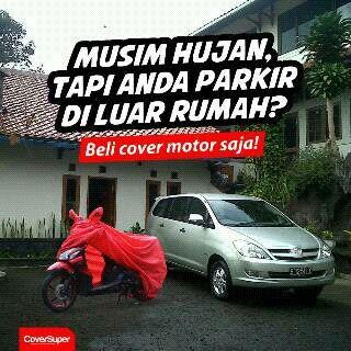 Cover Motor, Cover Mobil dari Coversuper Melindungi Kendaraan Anda dari Panas Matahari, Debu dan Hujan