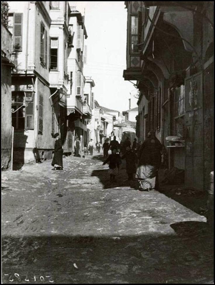 THESSALONIKI IN THE OTTOMAN TIME (GREECE), SALONIKA & OSMANLI ZAMANINDA SELANİK (YUNANİSTAN) Ve BALKANLAR 1895-1912 Osmanlı Dönemi Fotoğrafları & SELANİK