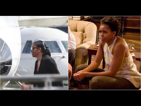"BOOM:  Michelle Obama ""Just Bailed on Barack & Girls"" - Off to Billionai..."