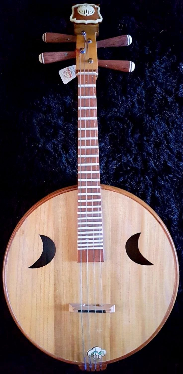 Semi-Professional Westernised Moon Lute from Hong Kong --- https://www.pinterest.com/lardyfatboy/