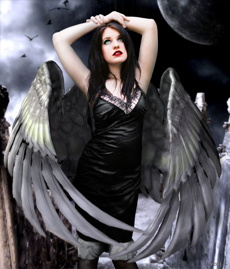 Картинки девушек падший ангел