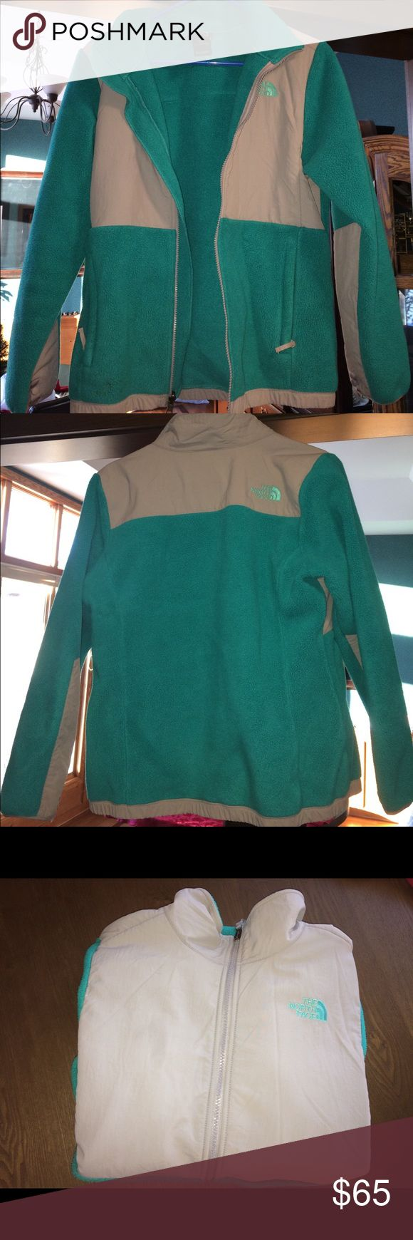 Girls Turquoise North Face Jacket Girls North Face Jacket XL (18). In great condition!! Make an offer if interested!! The North Face Jackets & Coats