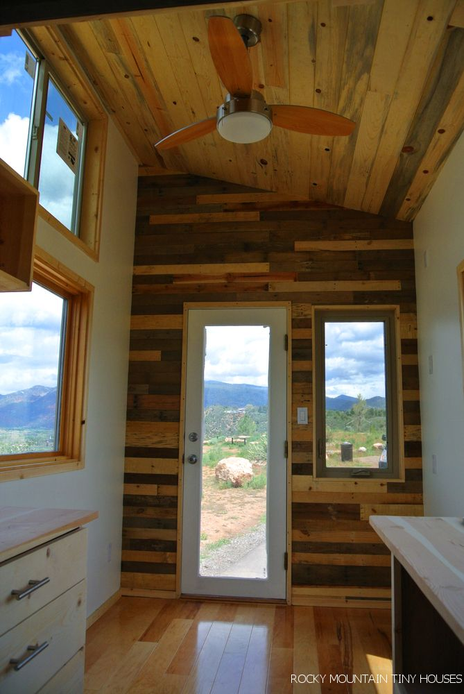 Rocky Mountain Tiny Houses is pleased to announce the completion of its latest spec model, the Front Range. This tiny housepays homage to the front range of Colorado and Wyoming where the plains m...