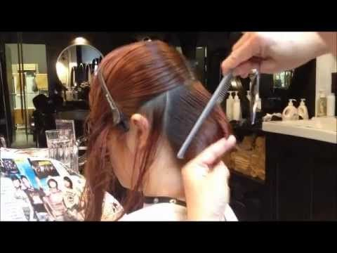 Beautiful Concave Bob Cut by Kenneth - love this cut.  Nicole, I'll have to think about this:-)