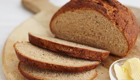 Scandinavian rye bread – add a larger proportion of rye flour if you like darker bread