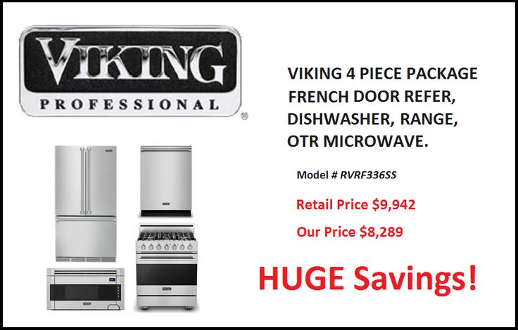Viking 4 Pc Kitchen Appliance Package  http://discount.mesatvappliance.com/viking-4-piece-appliance-package/