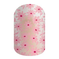 """Think Pink is part of the """"Tell Your Story"""" Collection by Jamberry. For each wrap purchased Jamberry donates $2 to the American Cancer Association. https://amarie.jamberry.com/us/en/shop/shop/for/nail-wraps?collection=collection%3A%2F%2F1075"""