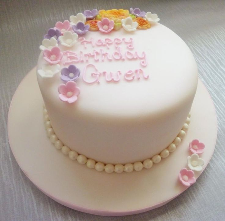 Happy Mothers Day Tiered Cake