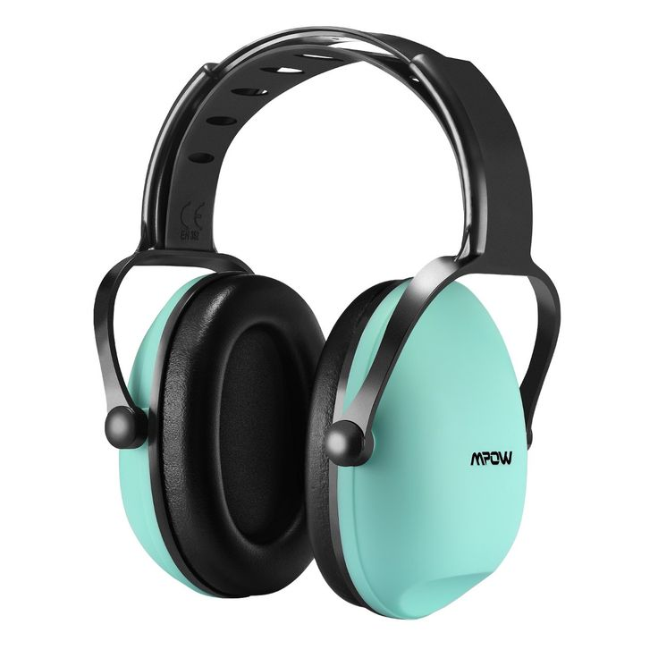 Mpow [Upgraded] Kids Safety Noise Reduction Ear muffs, Adjustable & Soft Headband Ear Protection for Shooting Hunting, Ear Defender for Children, Infants and Small Adults