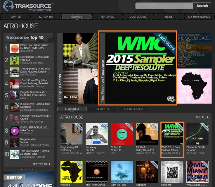 Get Your Copy Of These Releases Out And Available On Traxsource  Traxsource Label Link: http://www.traxsource.com/label/13404/deep-resolute-pty-ltd ;-) :poop: